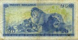 20 Shillings KENYA  1975 P.13b TTB