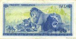 20 Shillings KENYA  1975 P.13b SUP