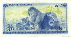 20 Shillings KENYA  1976 P.13c SUP