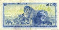 20 Shillings KENYA  1977 P.13d TTB