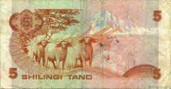 5 Shillings KENYA  1984 P.19c TB