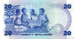 20 Shillings KENYA  1982 P.21b NEUF