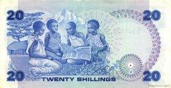 20 Shillings KENYA  1984 P.21c TTB