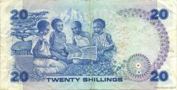 20 Shillings KENYA  1985 P.21d TTB