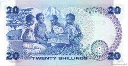 20 Shillings KENYA  1985 P.21d SPL