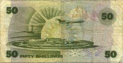 50 Shillings KENYA  1980 P.22a pr.TB