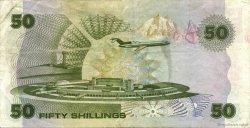 50 Shillings KENYA  1985 P.22b TTB