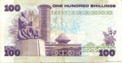 100 Shillings KENYA  1988 P.23f TTB+