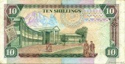 10 Shillings KENYA  1989 P.24a TB