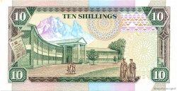 10 Shillings KENYA  1989 P.24a SPL