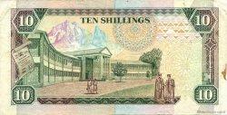 10 Shillings KENYA  1990 P.24b TTB