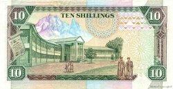 10 Shillings KENYA  1990 P.24b SUP