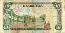 10 Shillings KENYA  1991 P.24c TTB