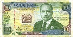 10 Shillings KENYA  1992 P.24d TTB