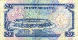 20 Shillings KENYA  1989 P.25b TTB