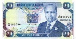 20 Shillings KENYA  1989 P.25b NEUF