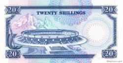 20 Shillings KENYA  1990 P.25c SPL
