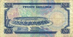 20 Shillings KENYA  1991 P.25d TB+