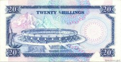20 Shillings KENYA  1992 P.25e TTB