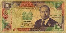 100 Shillings KENYA  1990 P.27b B