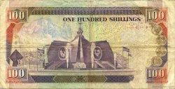 100 Shillings KENYA  1990 P.27b TB+