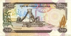 100 Shillings KENYA  1989 P.29a var TTB