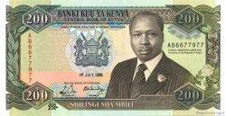 100 Shillings KENYA  1989 P.29a var NEUF
