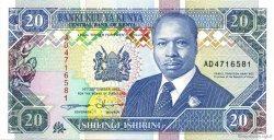 20 Shillings KENYA  1993 P.31a pr.NEUF