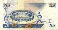 20 Shillings KENYA  1998 P.35c SUP