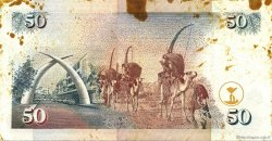 50 Shillings KENYA  1997 P.36b TTB