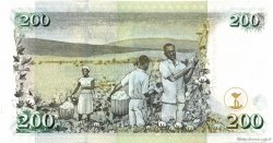 200 Shillings KENYA  2008 P.43var NEUF