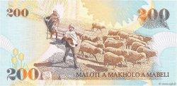 200 Maloti LESOTHO  1994 P.20a NEUF