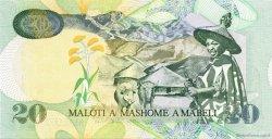 20 Maloti LESOTHO  2005 P.16d NEUF