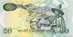 20 Maloti LESOTHO  2006 P.16e NEUF
