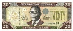 20 Dollars LIBERIA  2003 P.28 NEUF