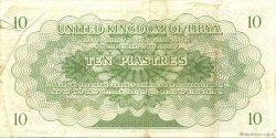 10 Piastres LIBYE  1951 P.06 TTB