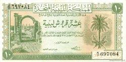 10 Piastres LIBYE  1951 P.06 SUP+