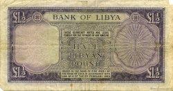 1/2 Pound LIBYE  1963 P.24 B