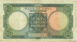 5 Pounds LIBYE  1963 P.26 B à TB