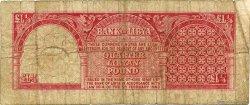 1/4 Pound LIBYE  1963 P.28 B+