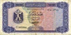 1/2 Dinar LIBYE  1971 P.34a TB+