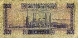 1/2 Dinar LIBYE  1972 P.34b B