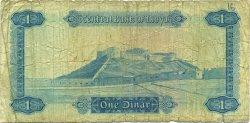 1 Dinar LIBYE  1972 P.35b B