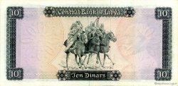 10 Dinars LIBYE  1971 P.37a SUP