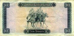 10 Dinars LIBYE  1972 P.37b TTB