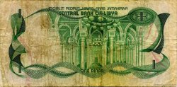 1 Dinar LIBYE  1981 P.44a TB+