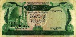 1 Dinar LIBYE  1981 P.44b TB