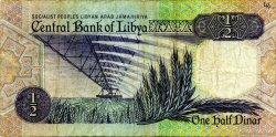 1/2 Dinar LIBYE  1990 P.53 TTB