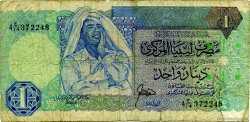 1 Dinar LIBYE  1988 P.54 B