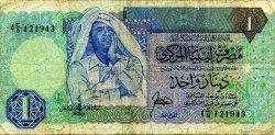 1 Dinar LIBYE  1988 P.54 pr.TB